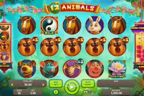 12 ANIMALS BOOONGO CASINO SLOTS