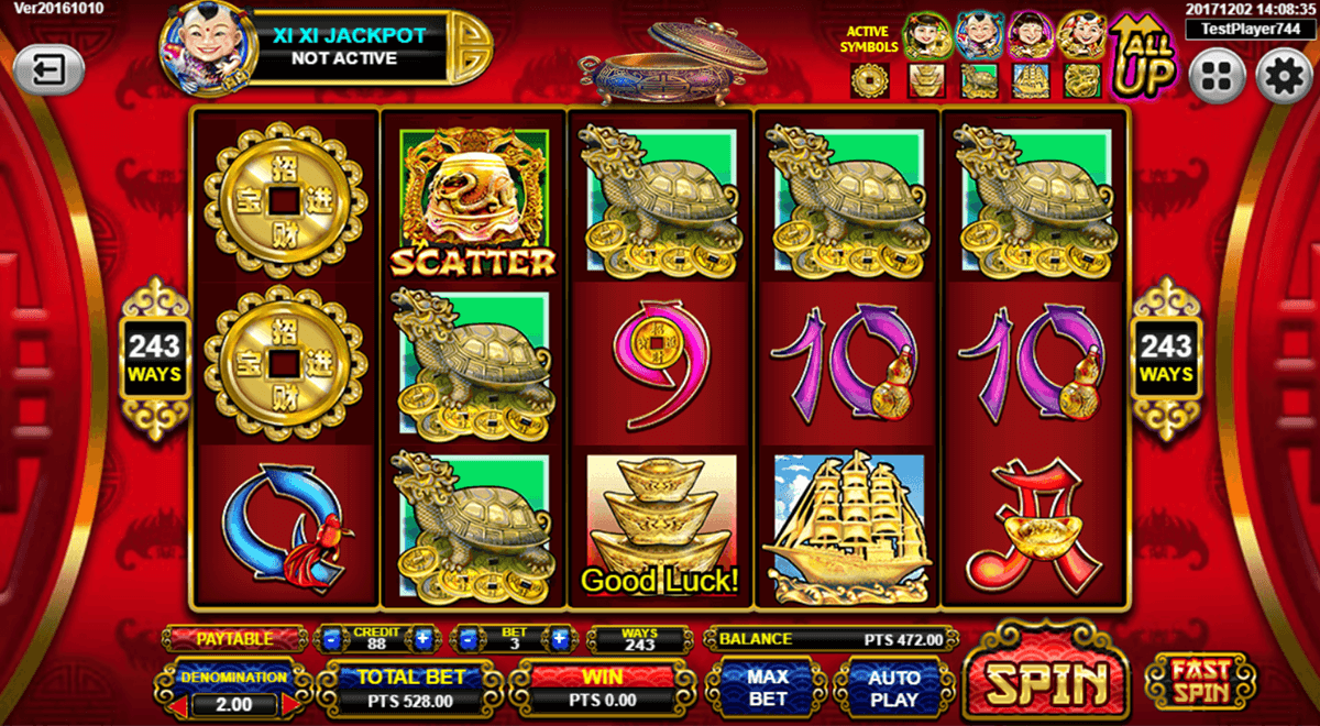 168 fortunes spadegaming casino slots
