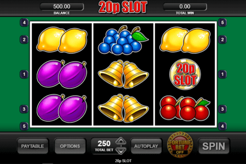 20P SLOT INSPIRED GAMING CASINO SLOTS