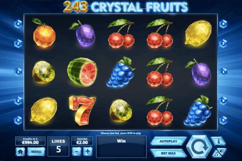 243 CRYSAL FRUITS TOM HORN CASINO SLOTS