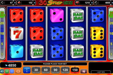30 spicy dice egt casino slots