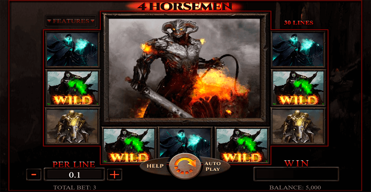 4 horsemen spinomenal casino slots