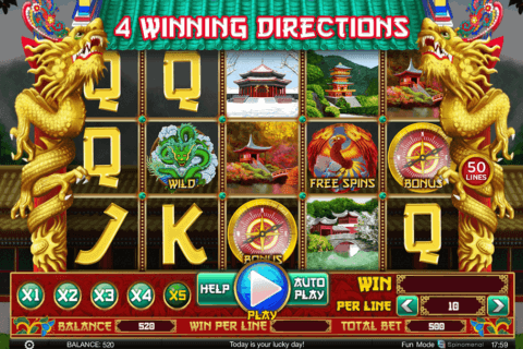 4 WINNING DIRECTIONS SPINOMENAL CASINO SLOTS