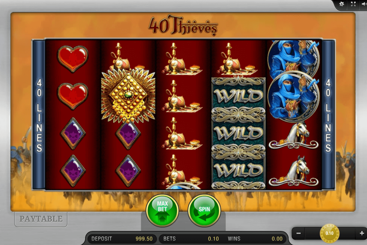 40 THIEVES BALLY WULFF CASINO SLOTS