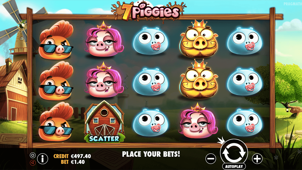 7 PIGGIES PRAGMATIC CASINO SLOTS