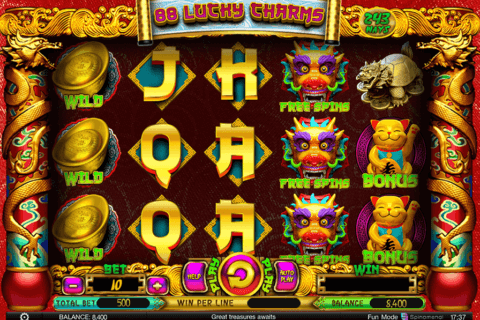 88 LUCKY CHARMS SPINOMENAL CASINO SLOTS