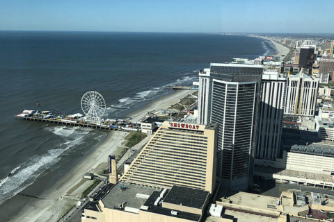 ATLANTIC CITY ATTEMPTS TO ENDURE
