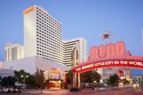 CAESARS SELLS IC HARRAHS RENO FOR THE FUTURE OF LAS VEGAS
