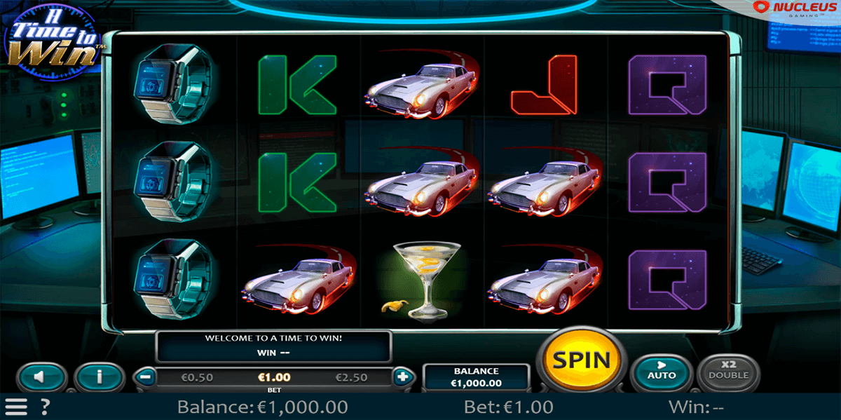 a time to win nucleus gaming casino slots