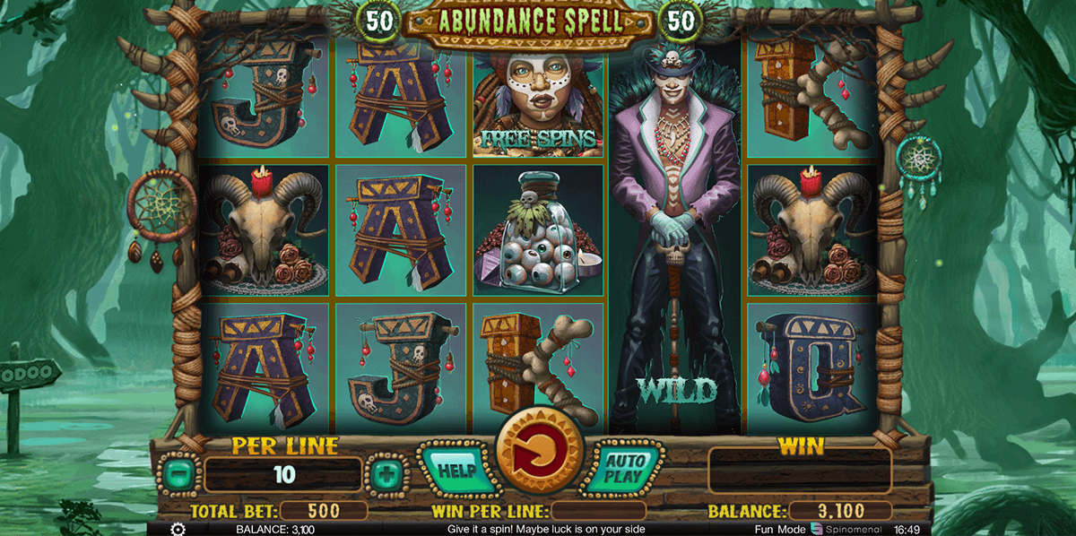 Book of Spells Slot Machine - Play for Free or Real Money