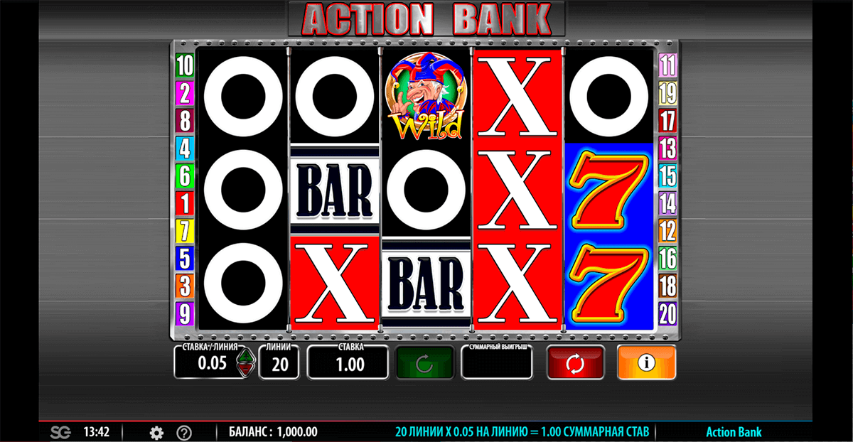 action bank barcrest casino slots