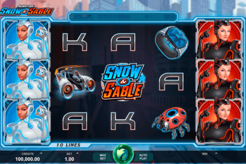 ACTION OPS SNOW AND SABLE MICROGAMING CASINO SLOTS
