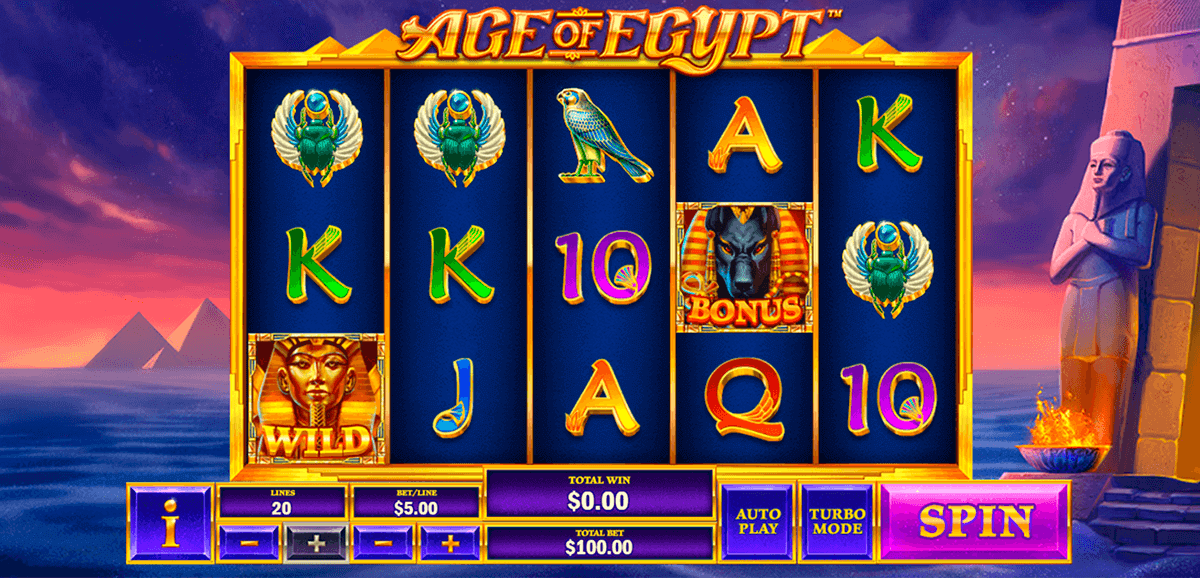 age of egypt playtech casino slots