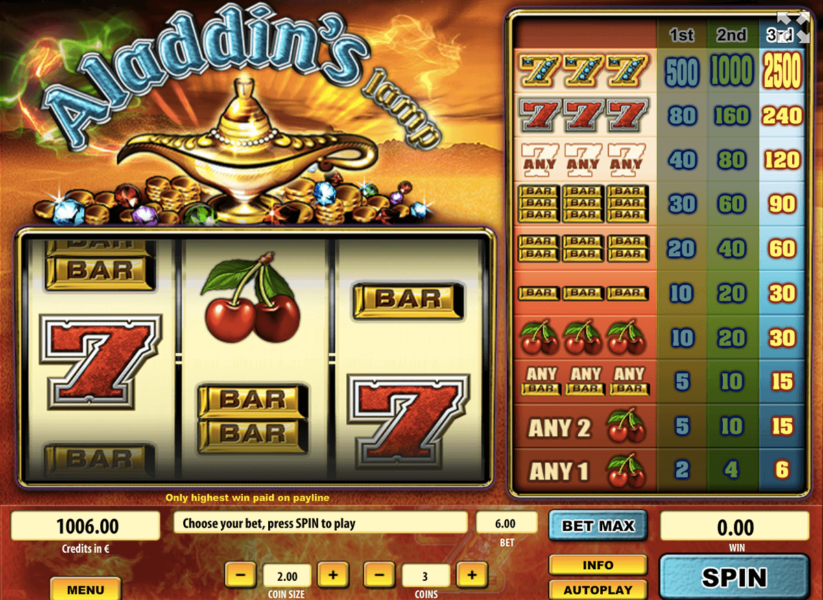 Magic Lamp Slots - Free to Play Online Demo Game