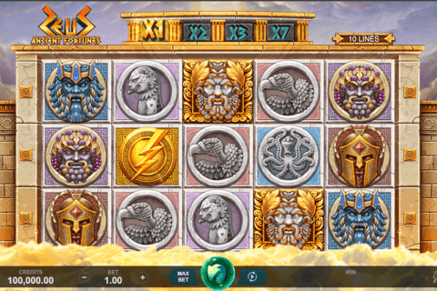 ANCIENT FORTUNES ZEUS MICROGAMING CASINO SLOTS