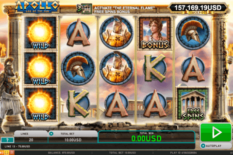 APOLLO LEANDER CASINO SLOTS