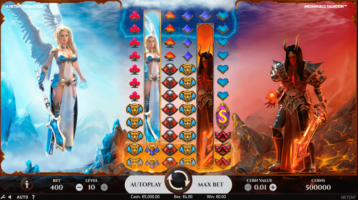 ARCHANGELS SALVATION NETENT CASINO SLOTS