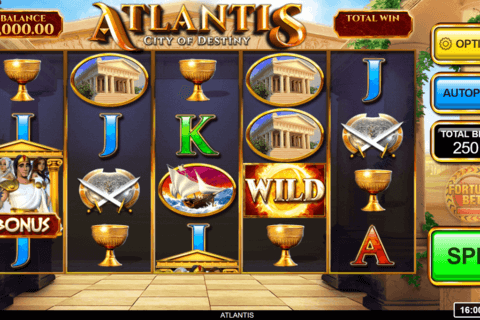 ATLANTIS INSPIRED GAMING CASINO SLOTS