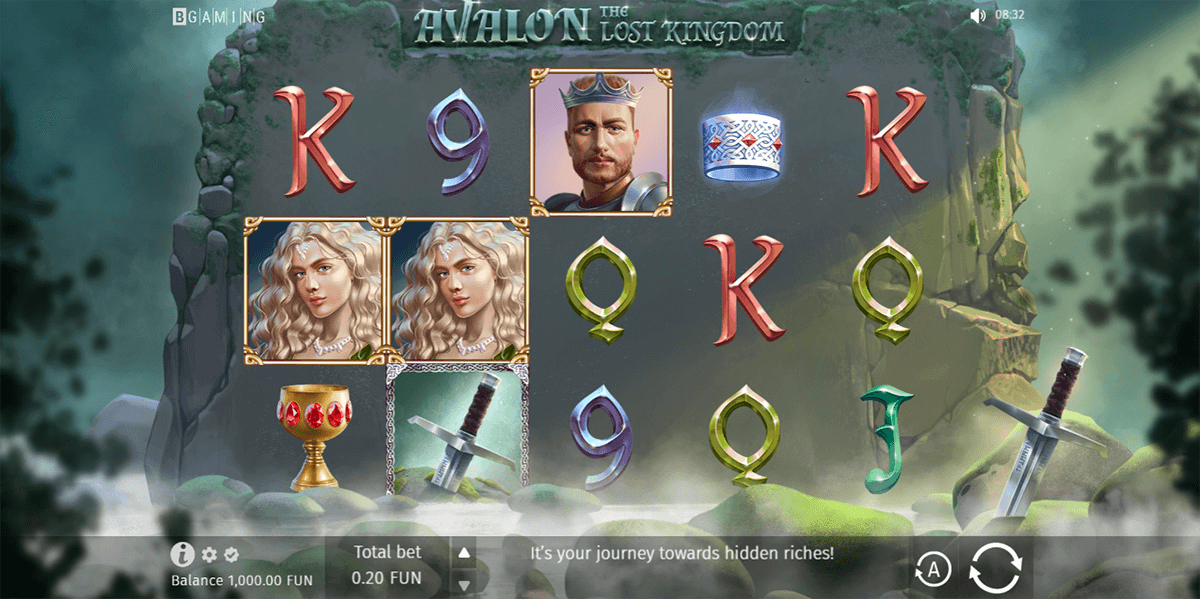 avalon the lost kingdom bgaming casino slots