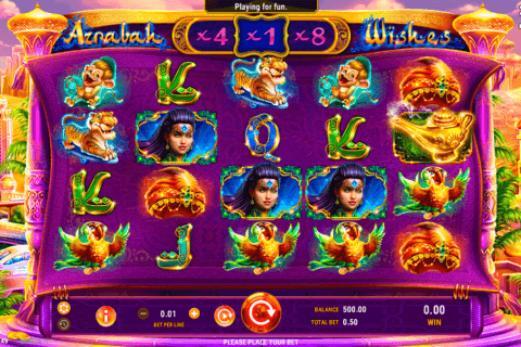AZRABAH WISHES GAMEART CASINO SLOTS