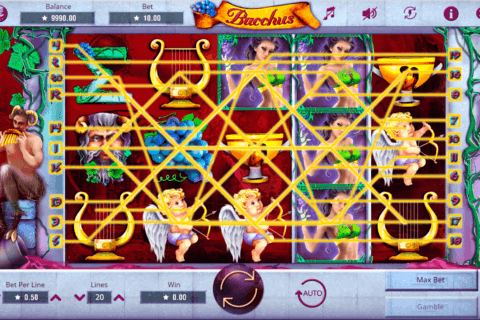 bacchus booming games casino slots
