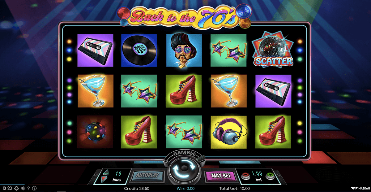 Back to the 70s Slots - Try it Online for Free or Real Money