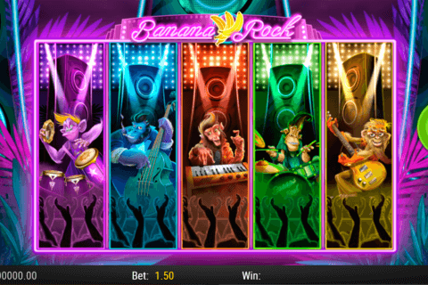 BANANA ROCK PLAYN GO CASINO SLOTS