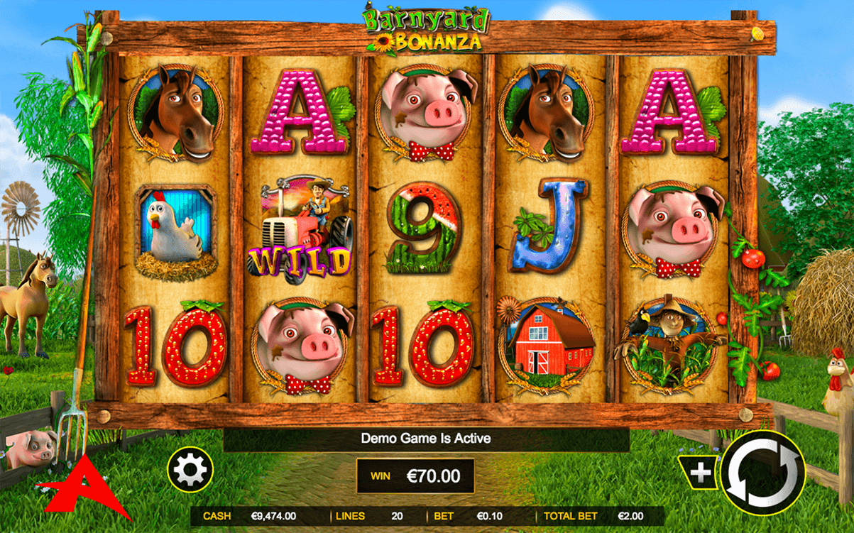 Barnyard Bonanza™ Slot Machine Game to Play Free in Gamesyss Online Casinos