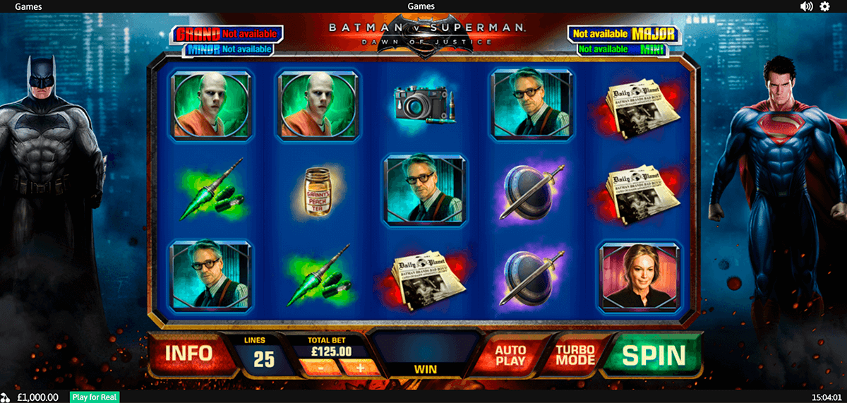 batman v superman dawn of justice playtech casino slots