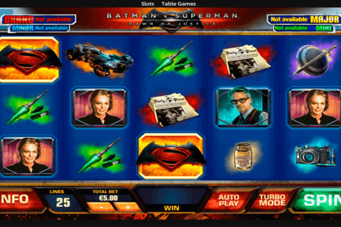BATMAN VS SUPERMAN PLAYTECH CASINO SLOTS