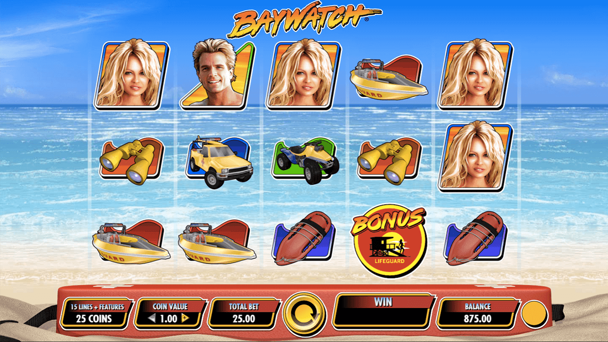 BAYWATCH IGT CASINO SLOTS