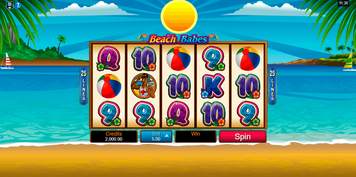Play the Free Slot Paradise Beach From SkillOnNet Casinos