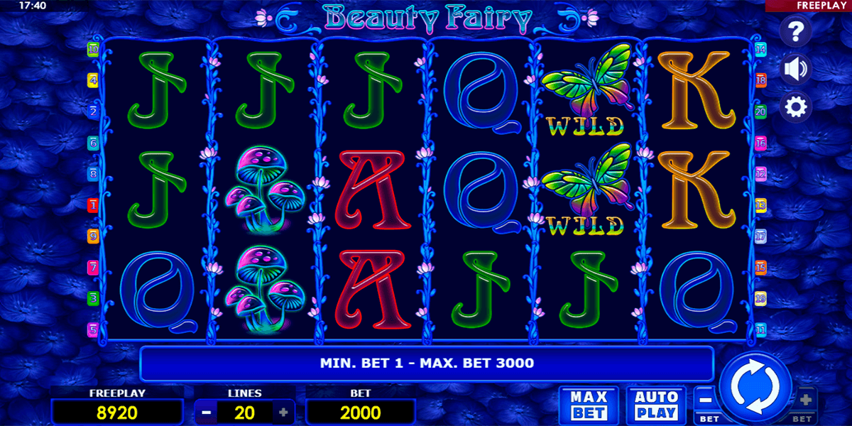 beauty fairy amatic casino slots