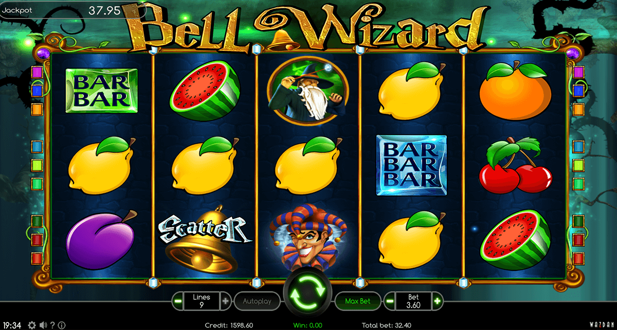 Bell Wizard Slot Machine - Review and Free Online Game