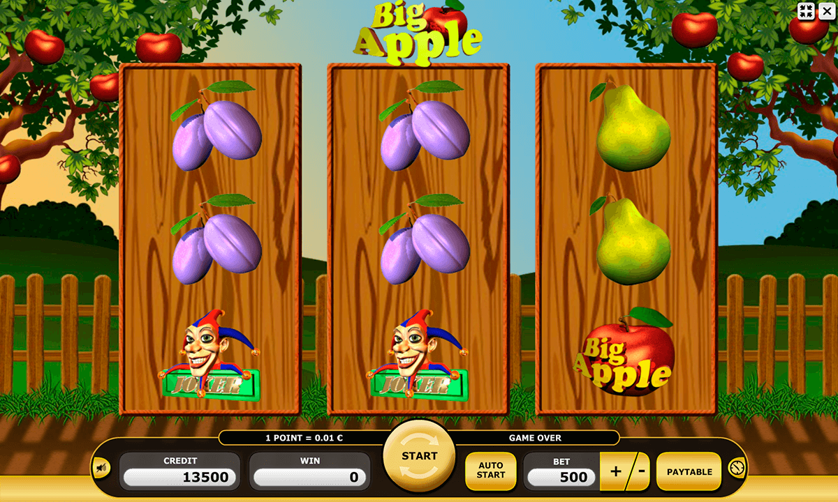 big apple kajot casino slots