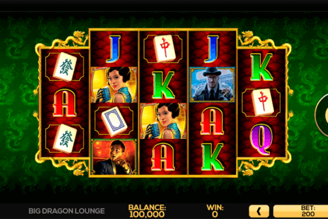 BIG DRAGON LOUNGE HIGH5 CASINO SLOTS
