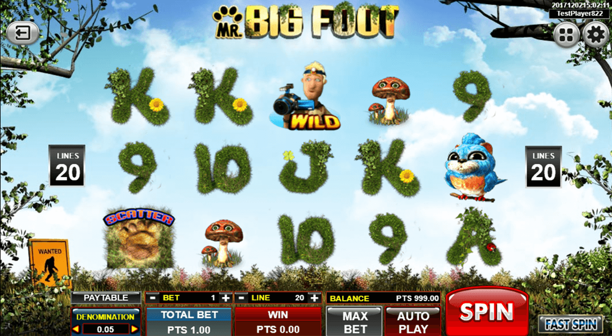 big foot spadegaming casino slots
