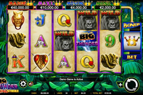 BIG THUNDER AINSWORTH CASINO SLOTS