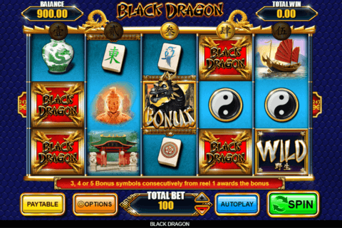 BLACK DRAGON INSPIRED GAMING CASINO SLOTS