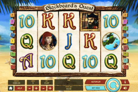 BLACKBEARDS QUEST TOM HORN CASINO SLOTS