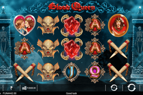 BLOOD QUEEN IRON DOG CASINO SLOTS
