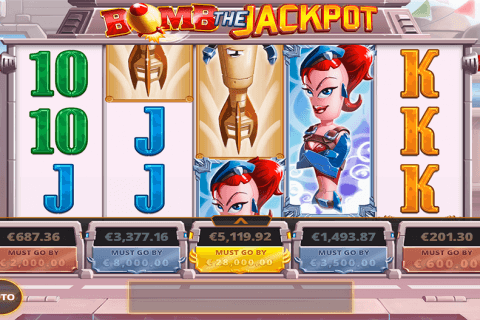 BOMB THE JACKPOT CAYETANO CASINO SLOTS