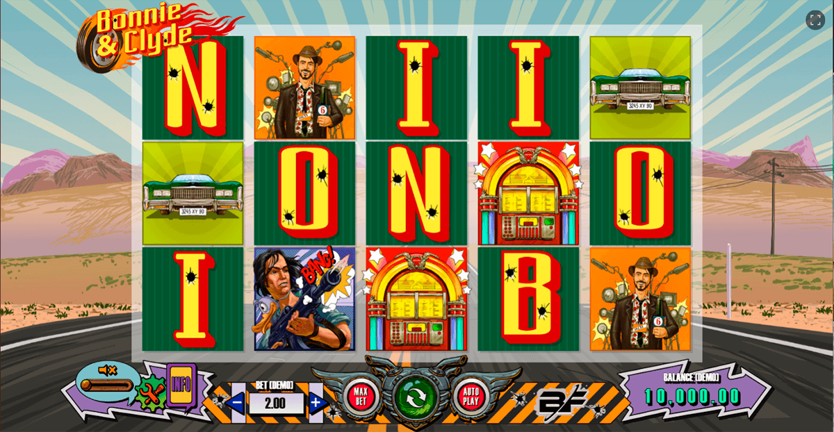 bonnie clyde bf games casino slots