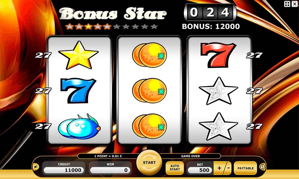 Bonus Star Slot Machine Online ᐈ Kajot™ Casino Slots