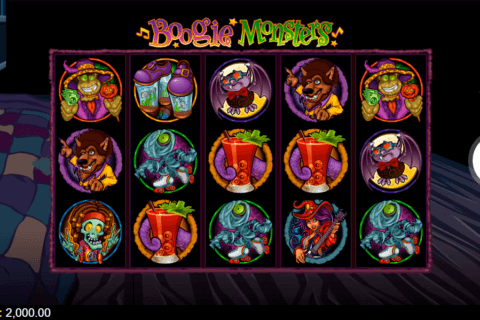 BOOGIE MONSTERS MICROGAMING CASINO SLOTS
