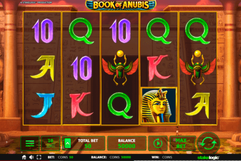 BOOK OF ANUBIS STAKE LOGIC CASINO SLOTS