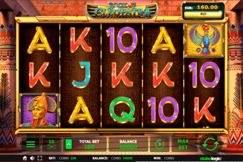 BOOK OF CLEOPATRA STAKE LOGIC CASINO SLOTS