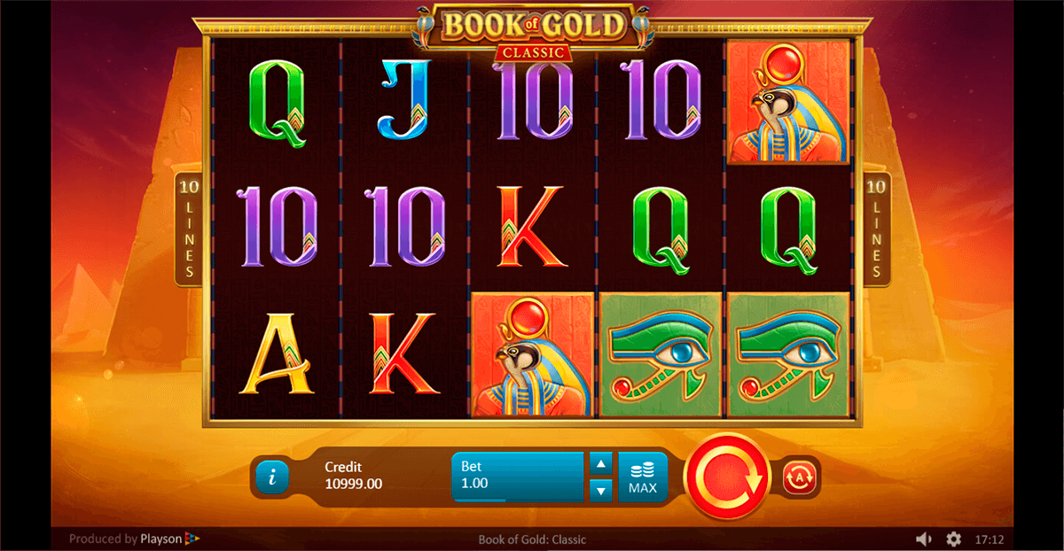 book of gold classic playson casino slots