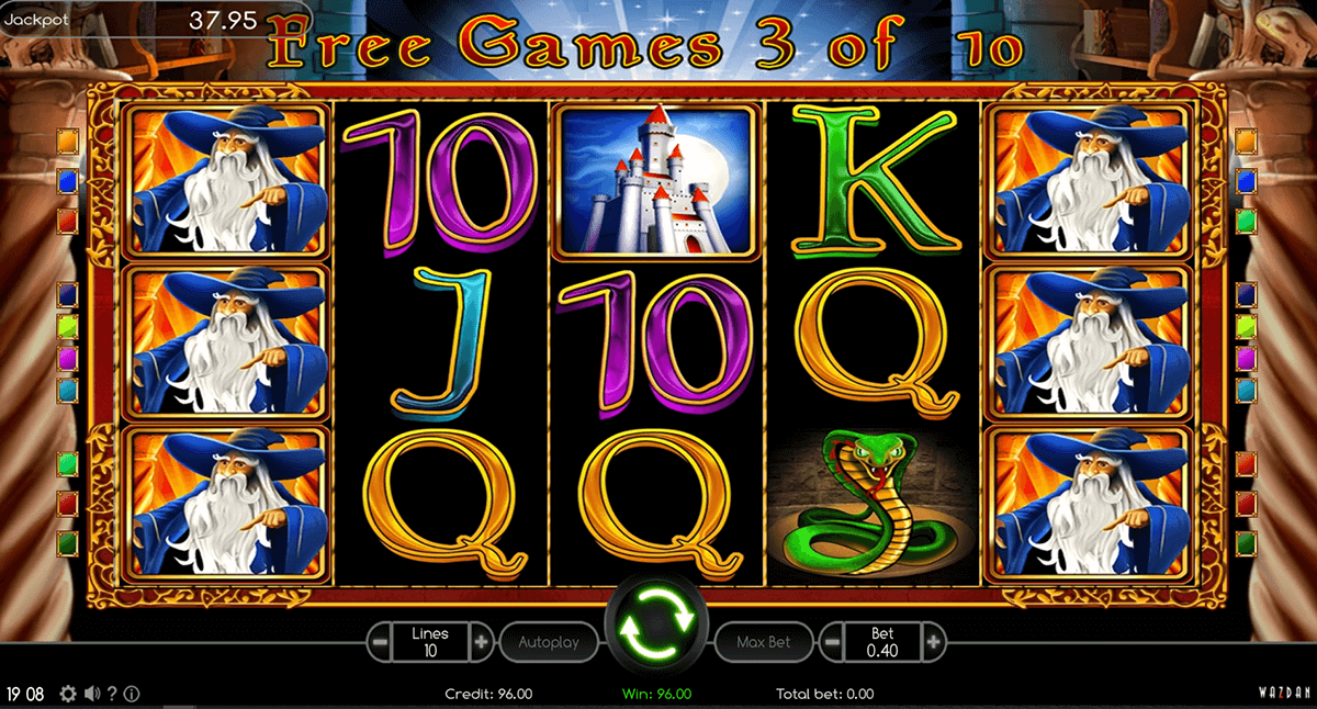 book of magic wazdan casino slots