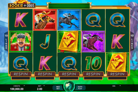 BOOKIE ON ODDS MICROGAMING CASINO SLOTS